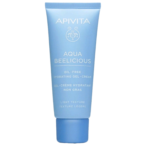 Apivita Aqua Beelicious Oil-free Hydrating Gel-Cream Лёгкий увлажняющий крем-гель для лица, 40 мл chi luxury black seed oil curl defining cream gel