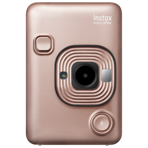 Фотоаппарат моментальной печати Fujifilm Instax Mini LiPlay blush gold фотоаппарат instax mini liplay blush gold