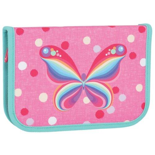 TIGER FAMILY Пенал Rainbow Butterfly (228885) розовый tiger family пенал rainbow butterfly 228885 розовый