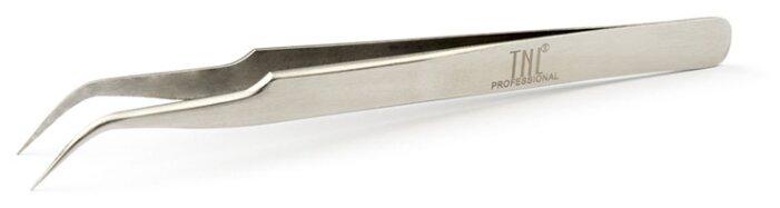 Пинцет TNL Professional для наращивания ресниц изогнутый классический