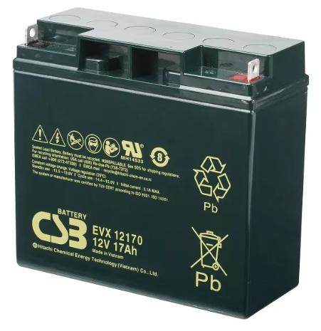 Аккумуляторная батарея CSB EVX 12170 17 А·ч