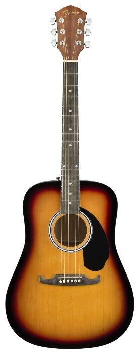 Вестерн-гитара Fender FA-125 Dreadnought SB