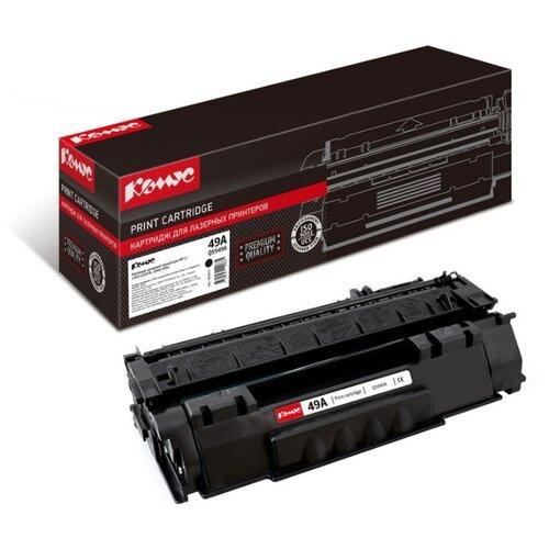 Фото - Картридж лазерный Комус 49A Q5949А черный, для НР1160/1320/3390/3392 картридж лазерный комус 49a q5949а черный для нр1160 1320 3390 3392