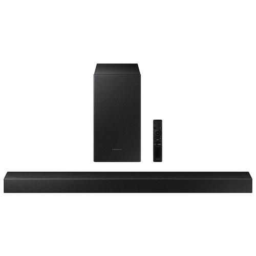 Саундбар Samsung HW-T450 черный звуковая панель samsung hw t450