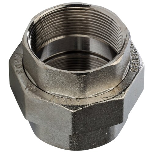 Фитинг резьба разъёмное соединение (американка) STOUT SFT-0034-000002 2x2 1 шт. угольник stout вв 2 sft 0013 000002