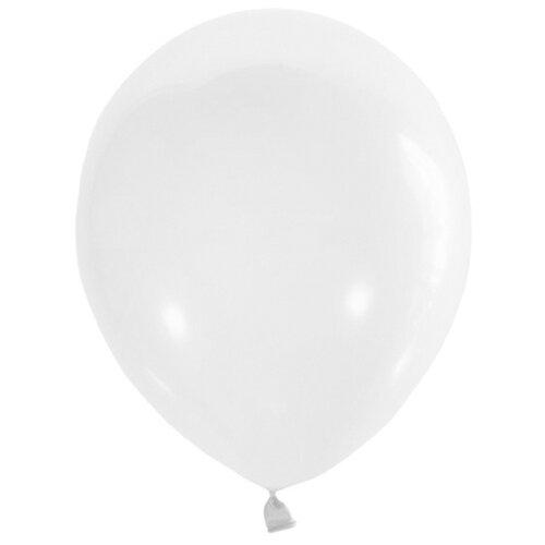 Набор воздушных шаров Поиск Пастель 30 см (100 шт.) белый