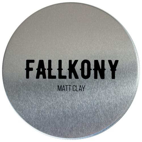 Fallkony глина для волос Matt Clay, средняя фиксация, 100 г