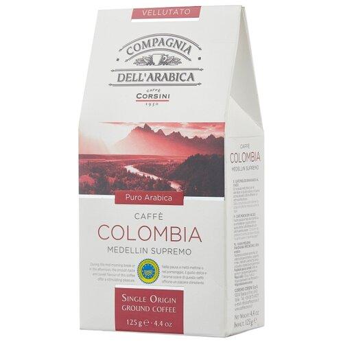 Фото - Кофе молотый Compagnia Dell` Arabica Colombia Medellin Supremo, 125 г кофе молотый compagnia dell arabica brasil santos 125 г