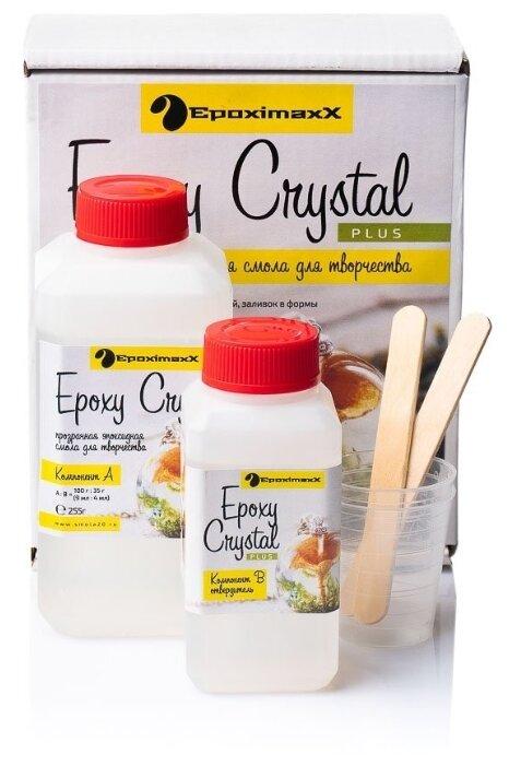 Эпоксидная смола EpoximaxX для творчества Epoxy Crystal PLUS EMECPL345GH 345 г