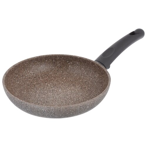 Сковорода TimA Art granit AT-1122 22 см, коричневый