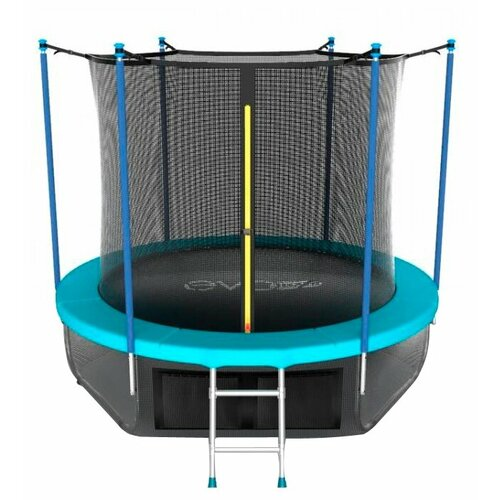Каркасный батут EVO Jump 6FT Internal с нижней сетью 183х183х210 см wave батут sportelit gb 10101 6ft