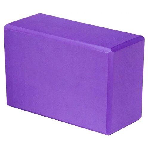 Блок для йоги ATEMI AYB-02 сиреневый