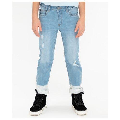 Купить Джинсы Button Blue размер 158, голубой