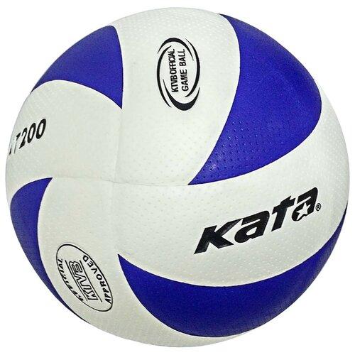 Волейбольный мяч Kata C33285 волейбольный мяч kata 4500 белый зеленый красный