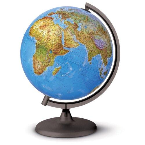 Глобус физико-политический Nova Rico Orion двойная карта 300 мм коричневый