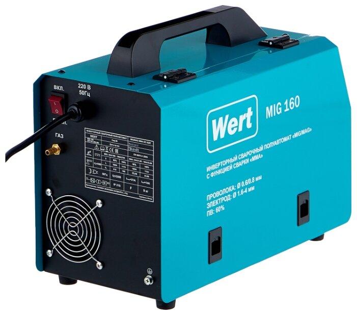 Сварочный аппарат Wert MIG 160 (MIG/MAG, MMA)