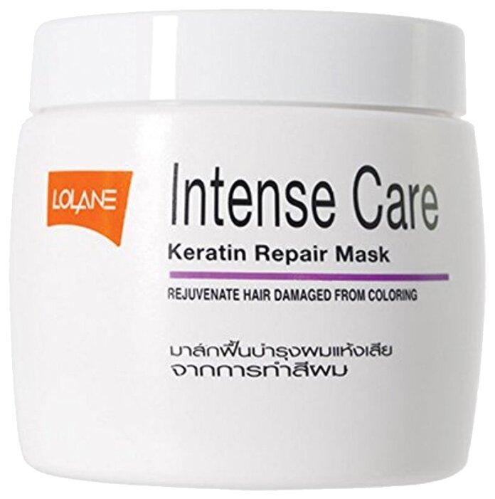 Lolane Intense Care Маска кератиновая для восстановления волос после окрашивания