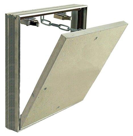 Ревизионный люк Вектор 200х200 настенный под плитку Левша