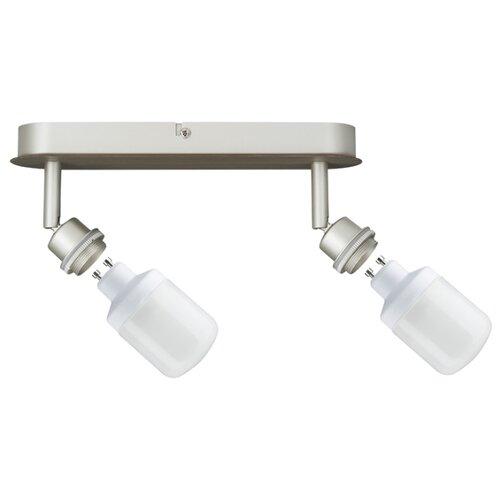 Светильник DecoSystems Balken 2x9W GU10 Ni-m 60062 светильник spotlight teja max1x10w gu10 ni sat mt