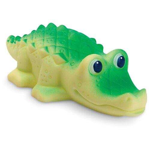 Фото - Игрушка для ванной ОГОНЁК Крокодил (С-528) зеленый/бежевый игрушка для ванной огонёк лось