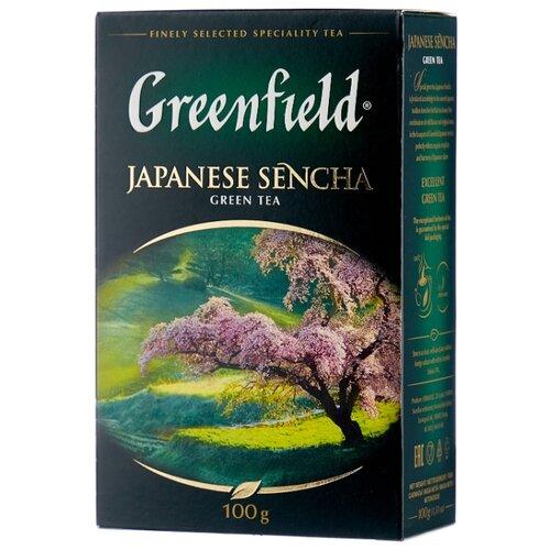 Чай зеленый Greenfield Japanese Sencha , 100 г