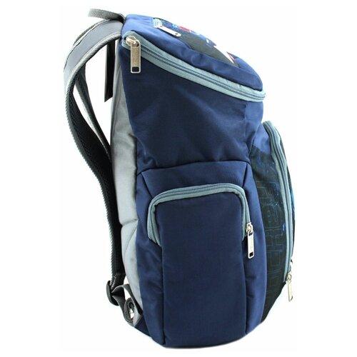 Рюкзак хоккейный BITEX 28-121 синий клюшки