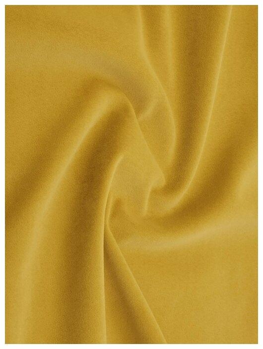 Купить Ткань мебельная (микровелюр) PERFECT 140х100см, цвет темно-желтый по низкой цене с доставкой из Яндекс.Маркета