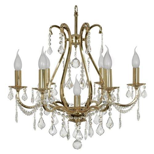 подвесная люстра arti lampadari sofia e 1 1 6 600 g Люстра Arti Lampadari Ercolano E 1.1.6.602 G, E14, 280 Вт