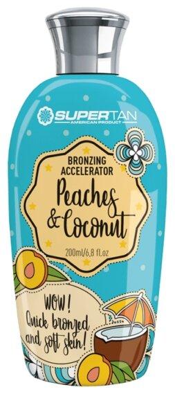 Крем для загара в солярии SuperTan Peaches and Coconut