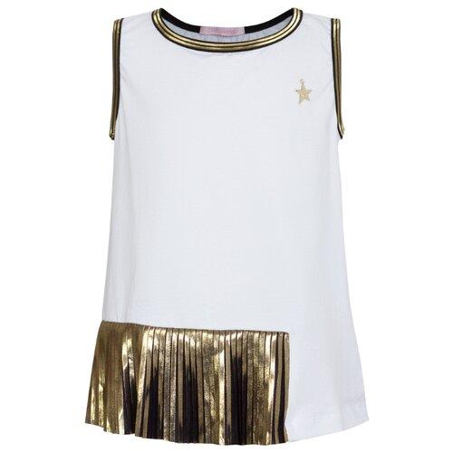 Блузка Stilnyashka размер 104, белый юбка stilnyashka размер 104 желтый