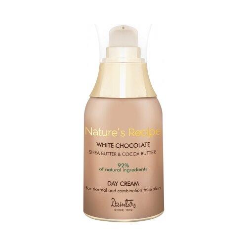 Купить Dzintars Nature Recipe White Chocolate дневной крем Белый шоколад для нормальной и комбинированной кожи лица, 50 мл
