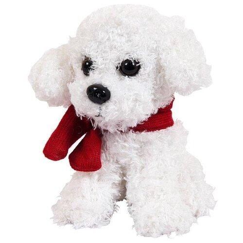 Купить Мягкая игрушка ABtoys Собака с шарфиком 16 см, Мягкие игрушки