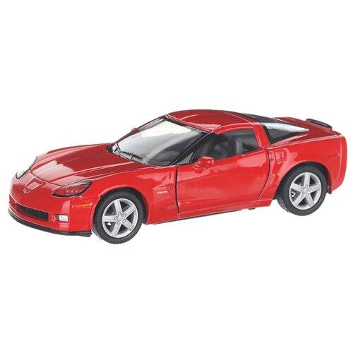 Купить Детская инерционная металлическая машинка с открывающимися дверями, модель Chevrolet Corvette Z06, красный, Serinity Toys, Машинки и техника