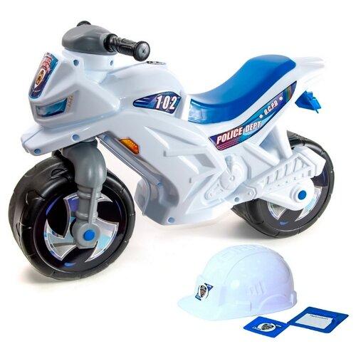 Каталка-толокар Orion Toys Мотоцикл (501В4) белый каталка толокар orion toys мотоцикл 2 х колесный 501в3 желтый