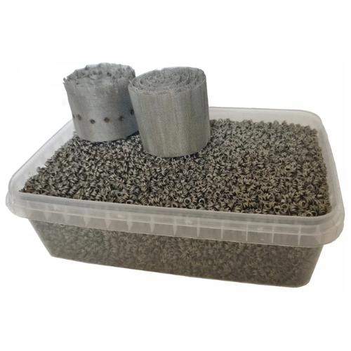 Селиваненко Комплект насадка + пыжи (0,42 л) для ректификационной колонны серебристый