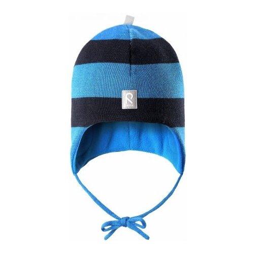Купить Шапка Reima размер 46, 6560A голубой, Головные уборы