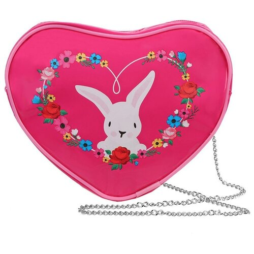 Фото - Сумка Mary Poppins, текстиль, розовый сумка бочонок mary poppins зайка 530035 пластик розовый голубой