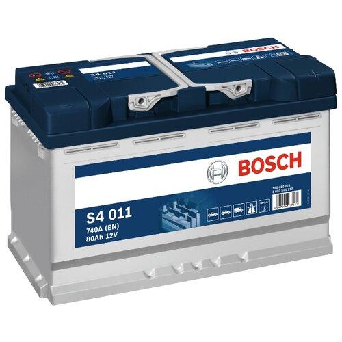 Автомобильный аккумулятор Bosch S4 011 (0 092 S40 110)
