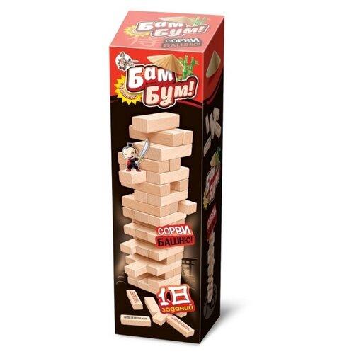 Фото - Настольная игра для детей и взрослых Бам-бум падающая башня настольная игра десятое королевство бам бум кроко 04101