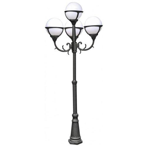 Arte Lamp Садово-парковый светильник Monaco A1497PA-4BK