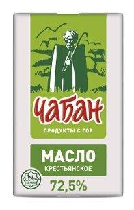 Чабан Масло сливочное крестьянское Халяль 72.5%, 180 г