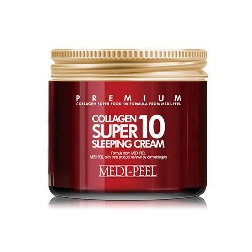Купить MEDI-PEEL Collagen Super10 Sleeping Cream ночной крем для лица с коллагеном, 70 мл