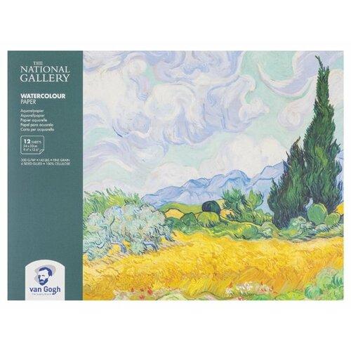 Фото - Альбом для акварели Royal Talens The National Gallery Van Gogh 32 х 24 см, 300 г/м², 12 л. альбом для акварели royal talens rembrandt 32 х 24 см 300 г м² 20 л