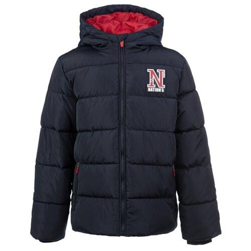 Купить Куртка playToday Classic 2020 22011072 размер 152, темно-синий, Куртки и пуховики