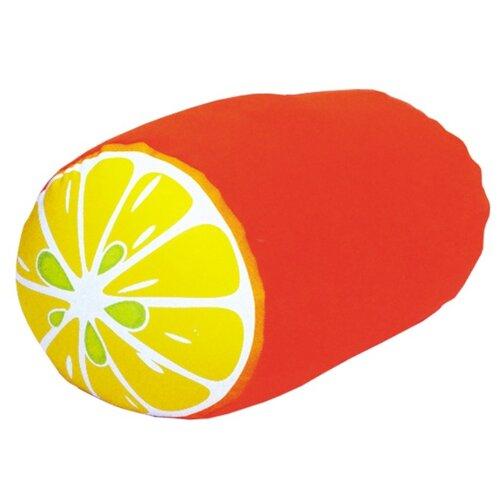 Антистрессовая подушка-валик Штучки, к которым тянутся ручки Фрукты, апельсин