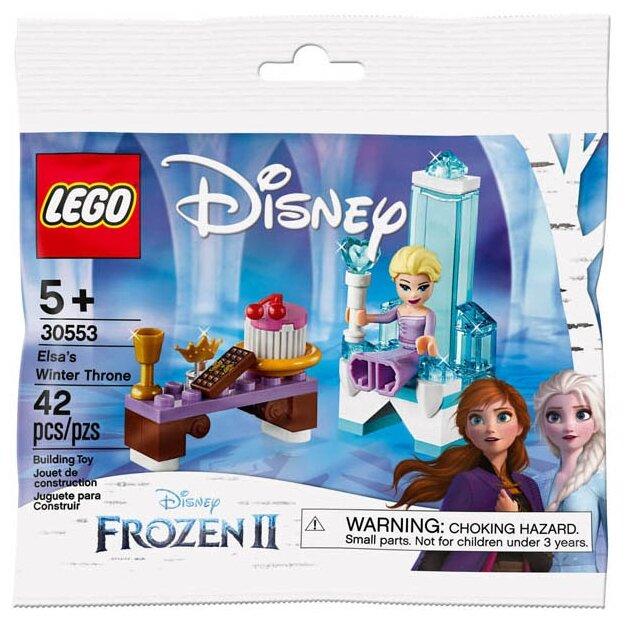 Конструктор LEGO Disney Princess 30553 Зимний трон Эльзы