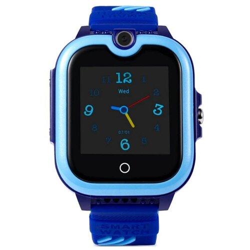 Детские умные часы c GPS Smart Baby Watch KT13 синий детские умные часы smart baby watch q80 желтый