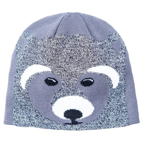 Шапка playToday размер 46, серый/темно-серый/белый шапка r mountain арт ice 8172 темно серый