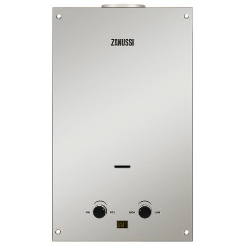 Проточный газовый водонагреватель Zanussi GWH 10 Fonte Glass Mirror