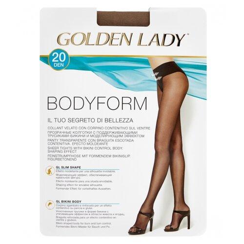 Колготки Golden Lady Bodyform 20 den, размер 2-S, daino (бежевый) колготки golden lady bodyform 20 den размер 4 l daino бежевый
